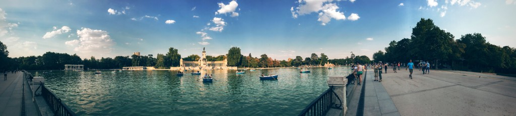 EDM took place in Madrid this year. Pictured above the Retiro Pond in Buen Retiro Park. It has nothing to do with EDM, but I enjoyed the park so please enjoy the picture.